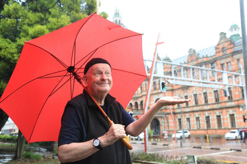 November 14, 2019. Pieter-Dirk Uys will be performing #He Two , starring Pieter-Dirk Uys and  Evita Bezuidenhout on stage at the Haxagon Theatre  in Pietermaritzburg this week  and then moving to the Sneddon next week. Picture; JACKE CLAUSEN