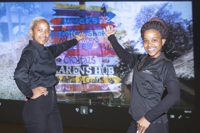 7 Mandisa Nkubungu, Amanda Shezi of Cotswold Downs pic Harry Lock