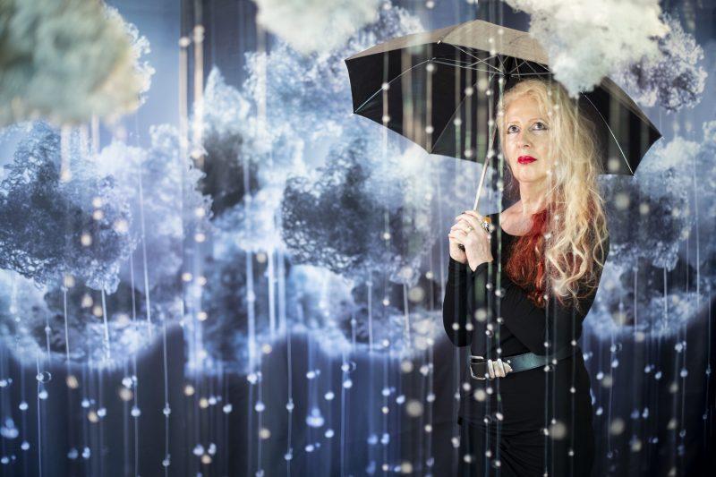 Fiona Kirkwood with RAIN 2020 (detail)