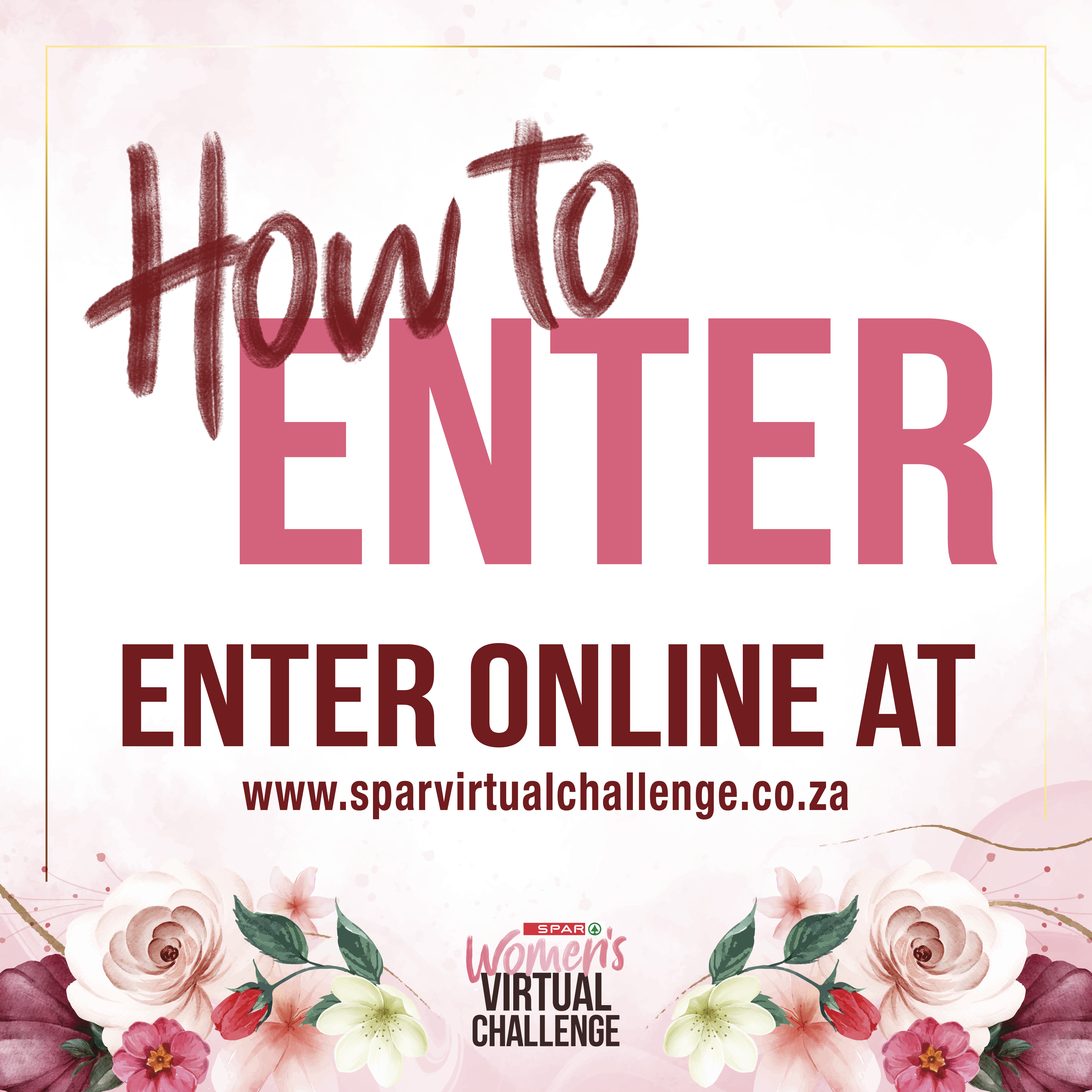 How To Enter The SPAR Virtual Women's Challenge!